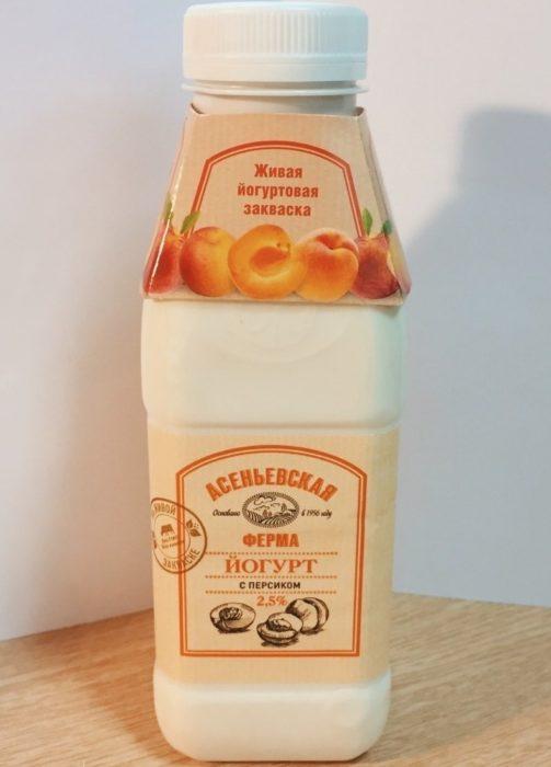 Йогурт «Асеньевская ферма»
