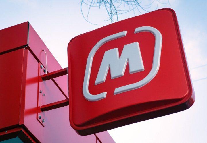 Логотип супермаркета Магнит