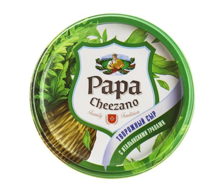 Творожный сыр Papa Cheezano с итальянскими травами