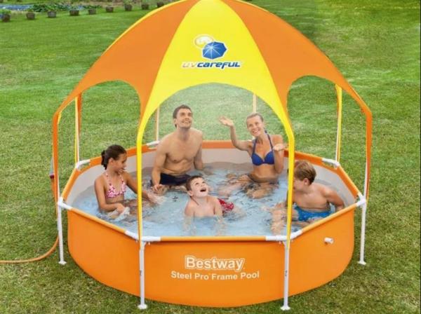 Надувной бассейн Bestway Splash-in-Shade Play