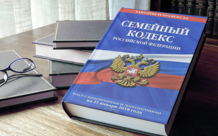 Книга Семейный кодекс Российской Федерации