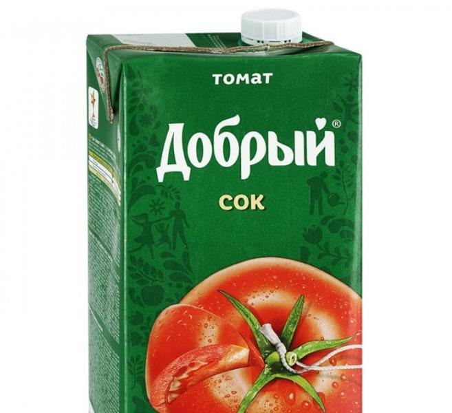 Сок томатный «Добрый»