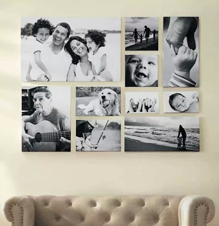 Коллаж из семейных фото