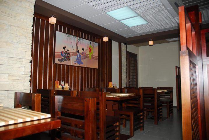 Интерьер ресторана Якитория