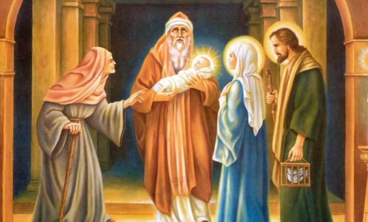 Иллюстрация к религиозному сюжету