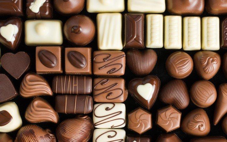 Ассорти из шоколадных конфет