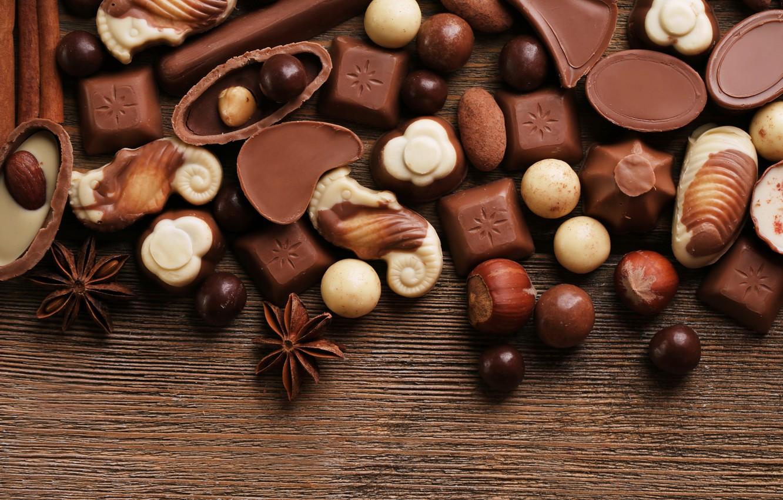 Ассорти шоколадных конфет