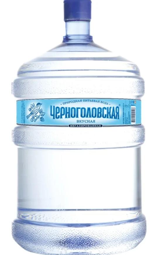 """Бутилированная вода """"Черноголовская"""""""