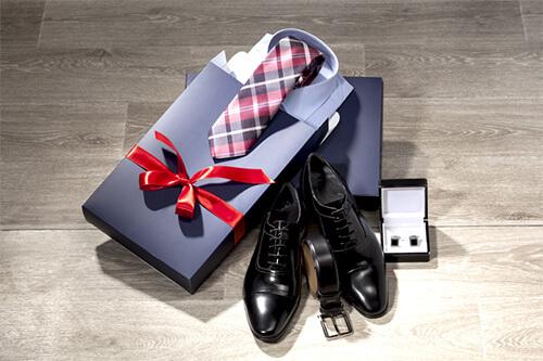 Мужской подарок, туфли и запонки