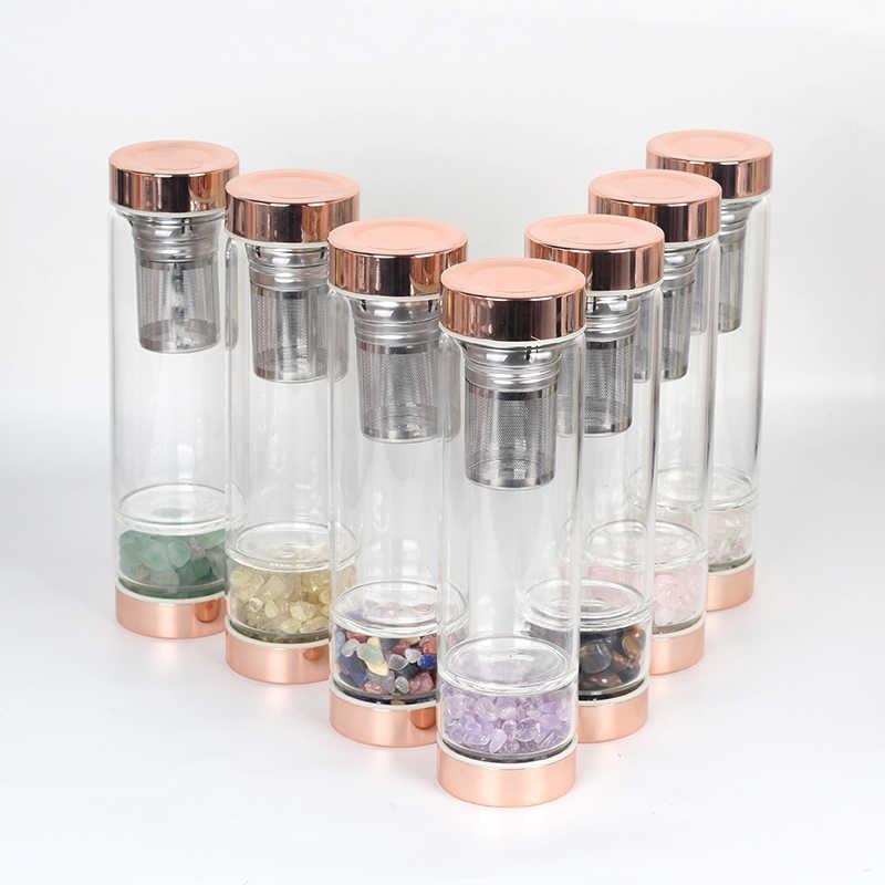 Бутылки для воды с кварцем
