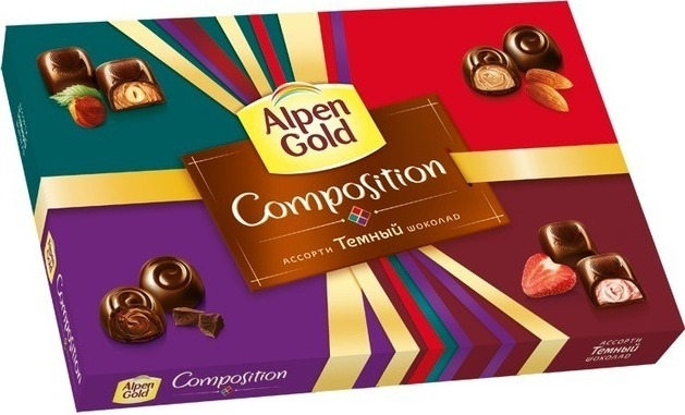 Ассорти Alpen Gold Composition в коробке