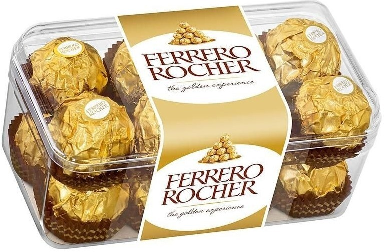 Конфеты Ferrero Rocher в подарочной упаковке