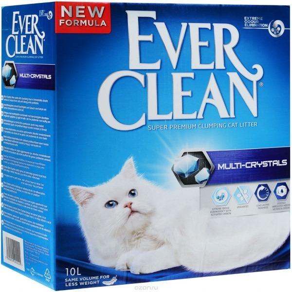 Наполнитель Ever Clean комкующийся