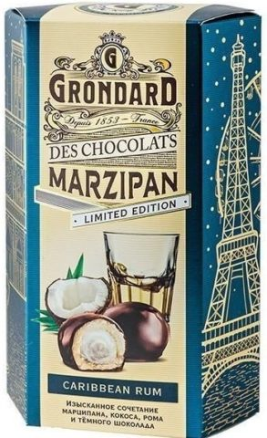 Конфеты Marzipan в коробке