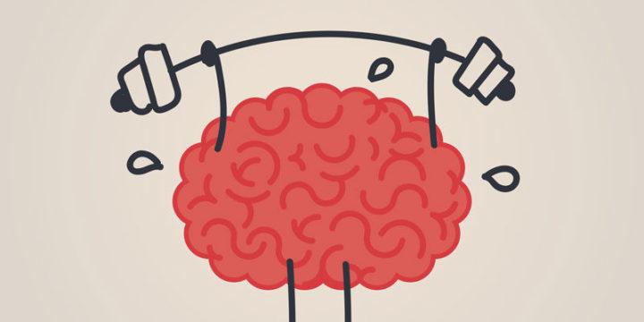 "Рисунок ""Мозг со штангой"""