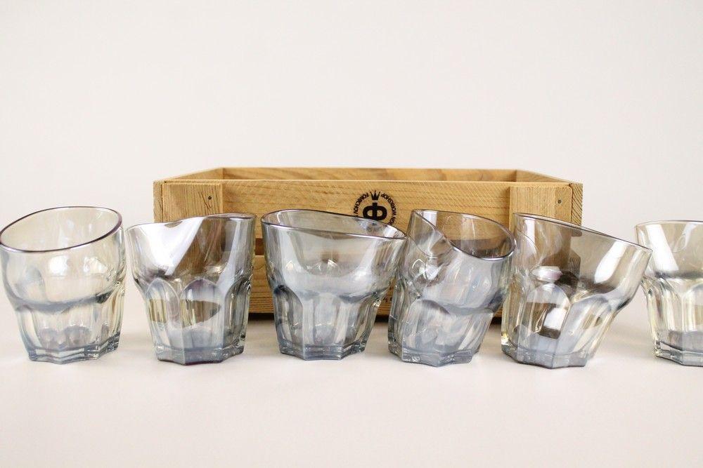 """Подарочный набор """"пьяных"""" стаканов для виски"""