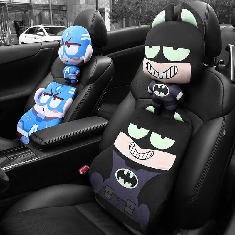 Подушка в виде супергероя для авто